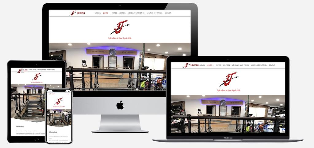 Institut de Formation Santé en Corse - Réalisation Creaweb2b.com - Création de sites internet à bastia
